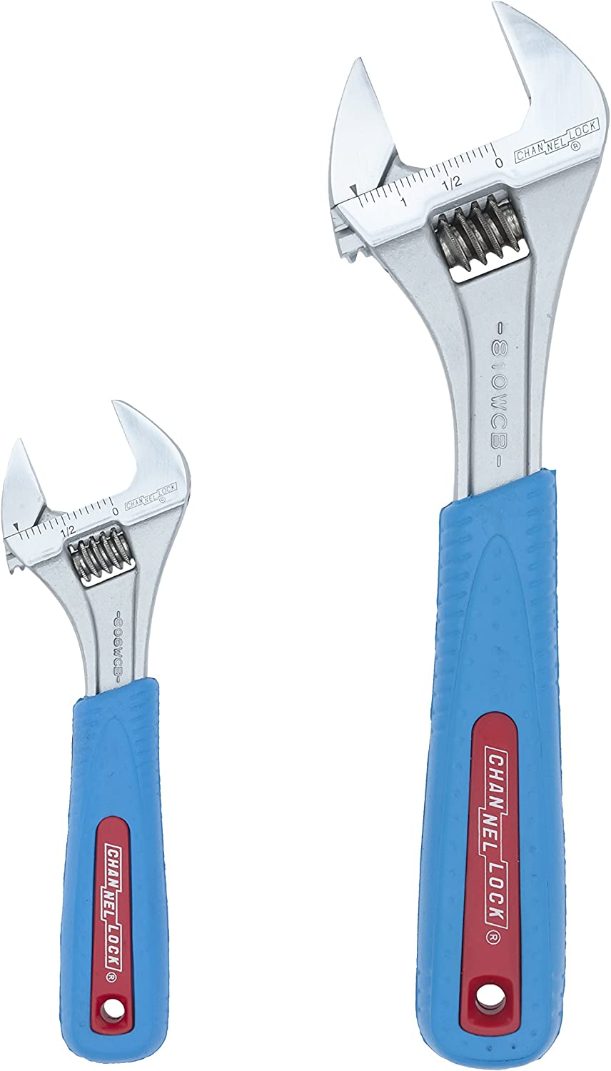 Channellock 810WCB Code Blue Adjustable Wide Wrench 10-Inch