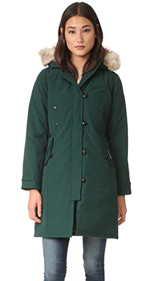 Amazon.com: Canada Goose Women's Kensington Parka Coat: Sports ...
