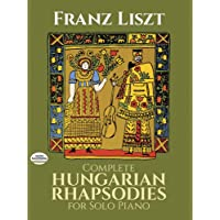 COMP HUNGARIAN RHAPSODIES FOR (Dover Music for Piano)