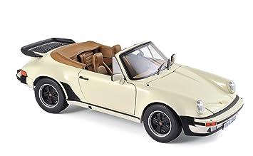 Norev® NV187661 1:18 1987 Porsche 911 Turbo Cabriolet - Marfil: Amazon.es: Juguetes y juegos