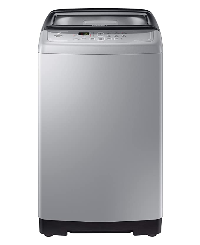 Samsung 6.5 kg Fully Automatic Top Loading Washing Machine  WA65A4002VS/TL, Imperial Silver, Center Jet Technology  Samsung TL