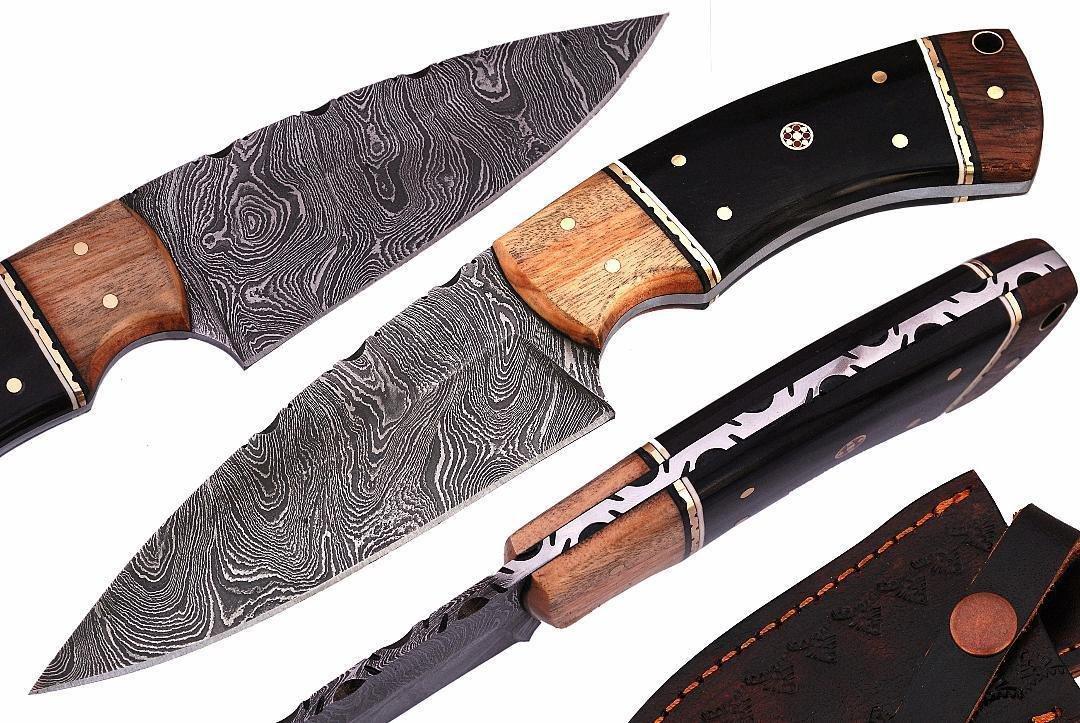 Amazon.com: Mason Sharp Edge – Cuchillo de caza de acero de ...