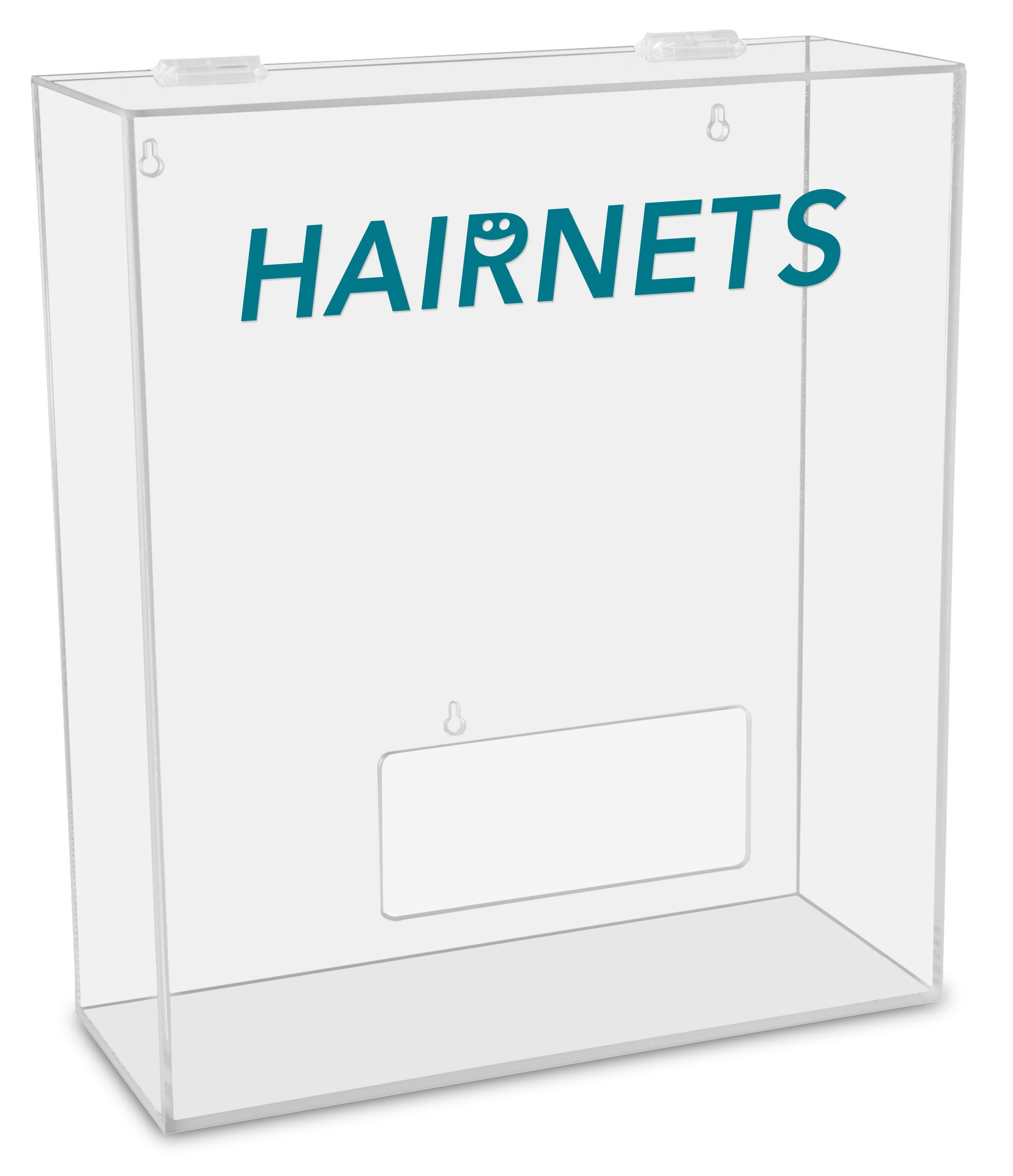 TrippNT 51309 Hairnets Labeled Medium Apparel Dispenser, 15'' Width x 18'' Height x 6'' Depth