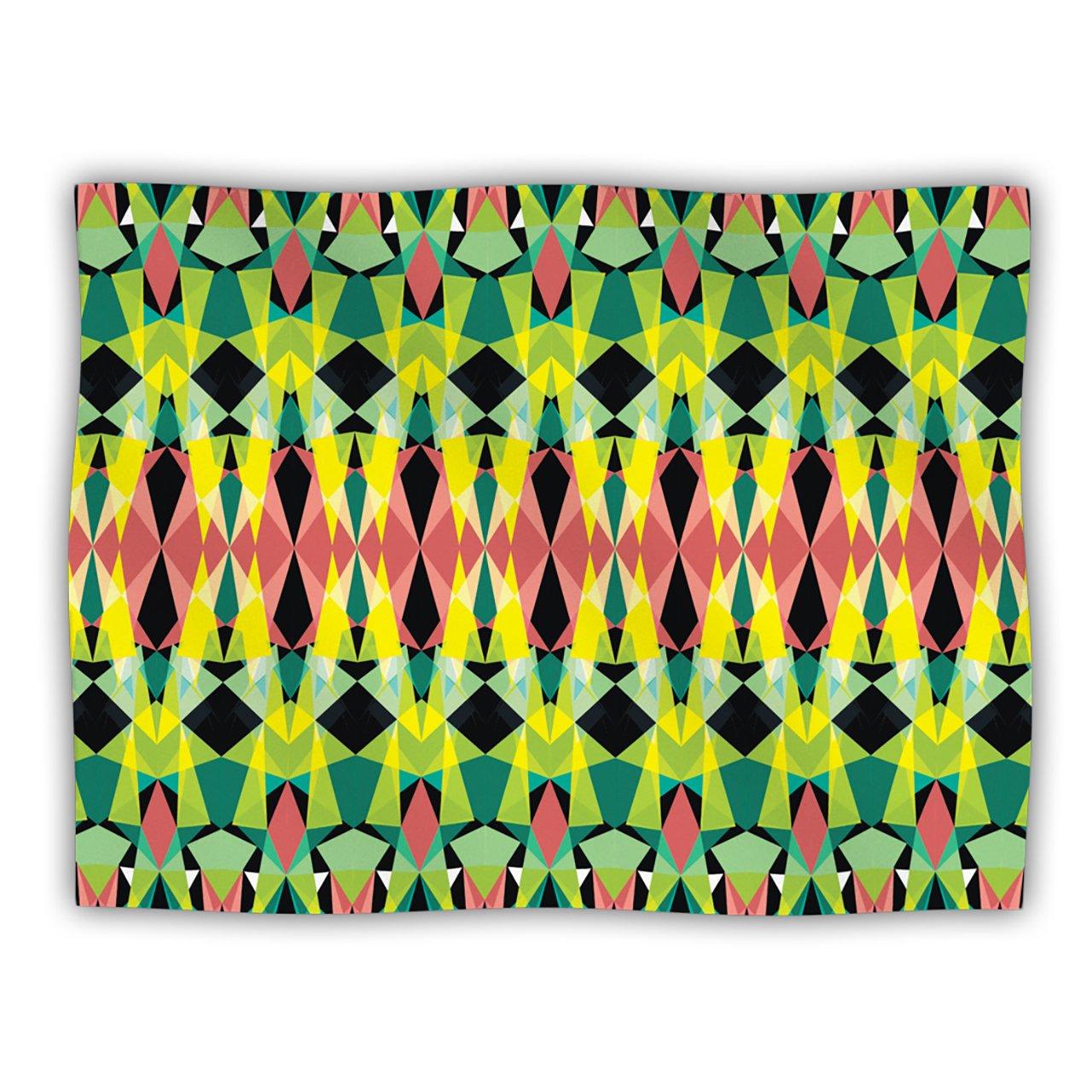 Kess InHouse Akwaflorell T-Vision Dog Blanket, 60 by 50-Inch