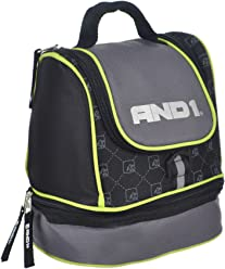 AND1 Insulated Lunchbox - gray/lime, one size