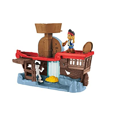 Fisher-Price Disney Jake and The Never Land Pirates Jake's Battle at Shipwreck Falls: Toys & Games
