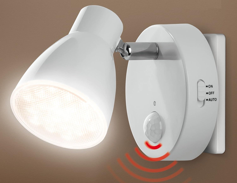LED Nachtlicht Mit Automatikfunktion Direkt 230V Mit