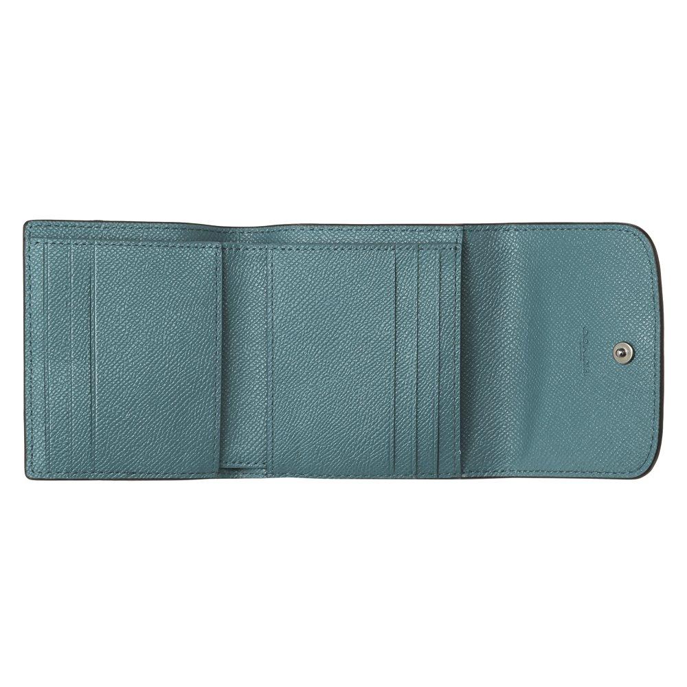 35e4eb7fa21d Amazon   [コーチ] 三つ折り財布 アウトレット レディース COACH F21069 QBMP2 グリーン [並行輸入品]   COACH( コーチ)   財布
