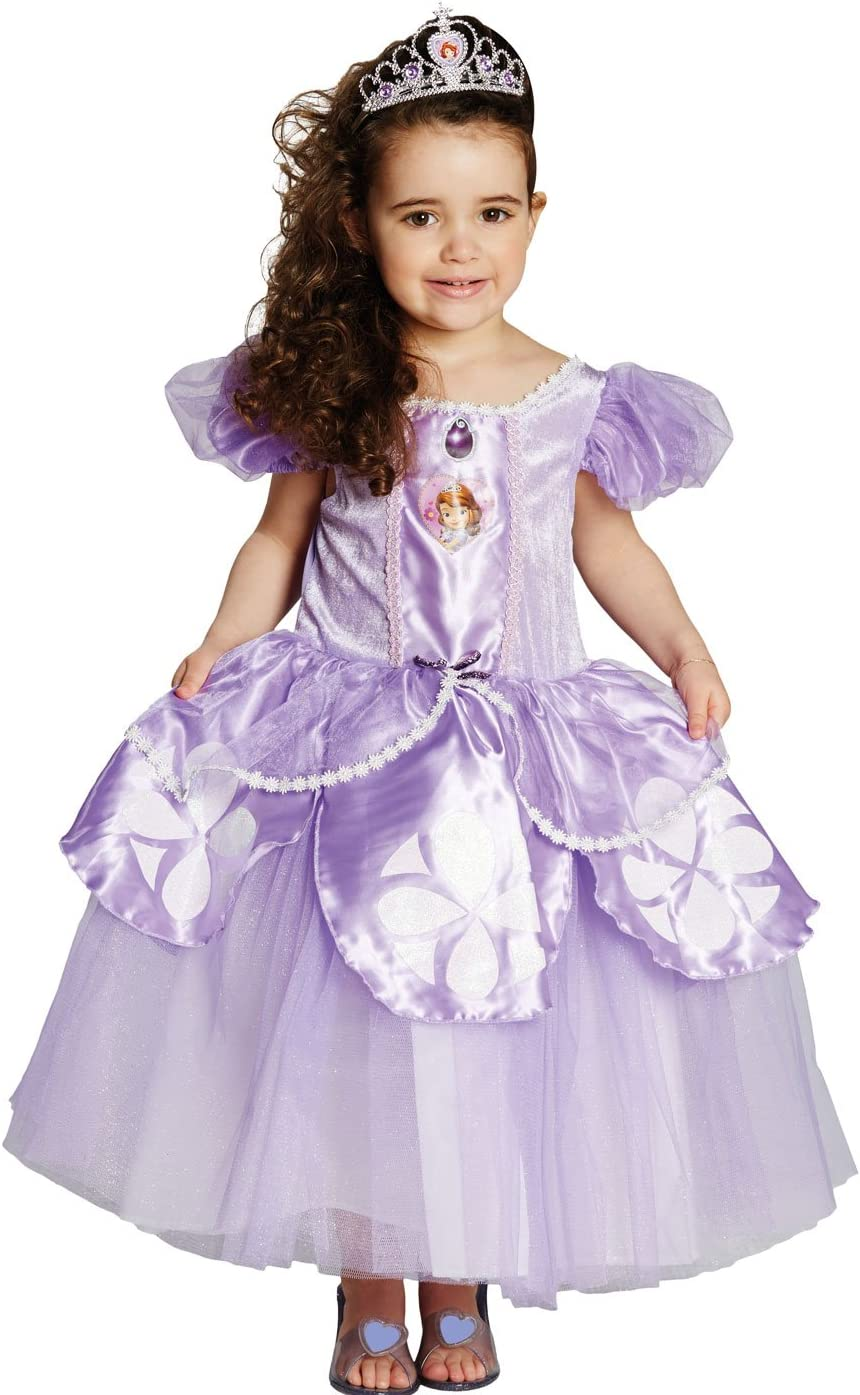 Girls Deluxe Disney Princess Sofia the First Book Day Fancy Dress Costume Outfit