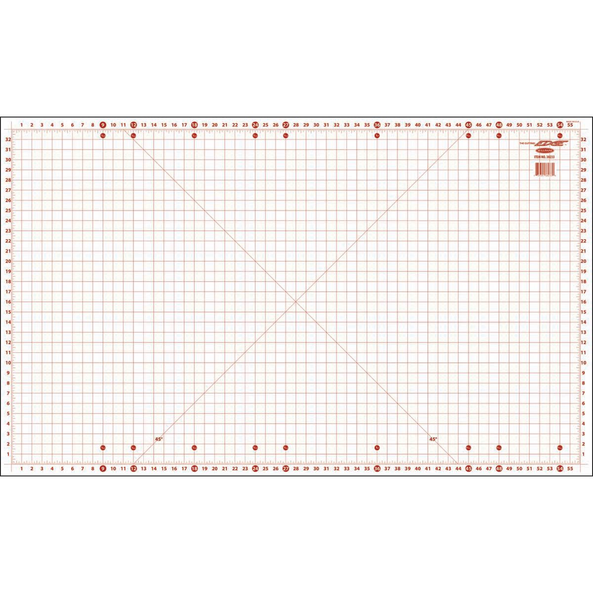 Sullivans Home Hobby Cutting Mat-36-inch x 59-inch, Other, Multicoloured Notions Marketing 087168