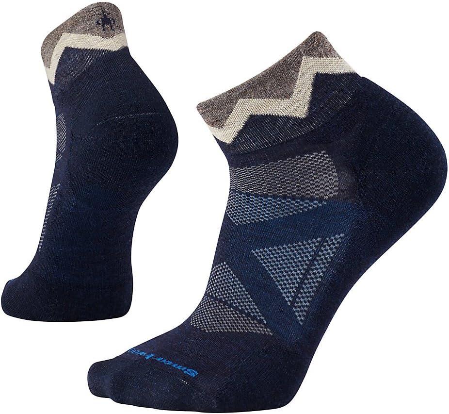 Smartwool Mens PhD Cycle Light Elite Mini Socks