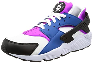 NIKE Men s Air Huarache Blue Jay/White Hyper Violet Running Shoe 11 Men US