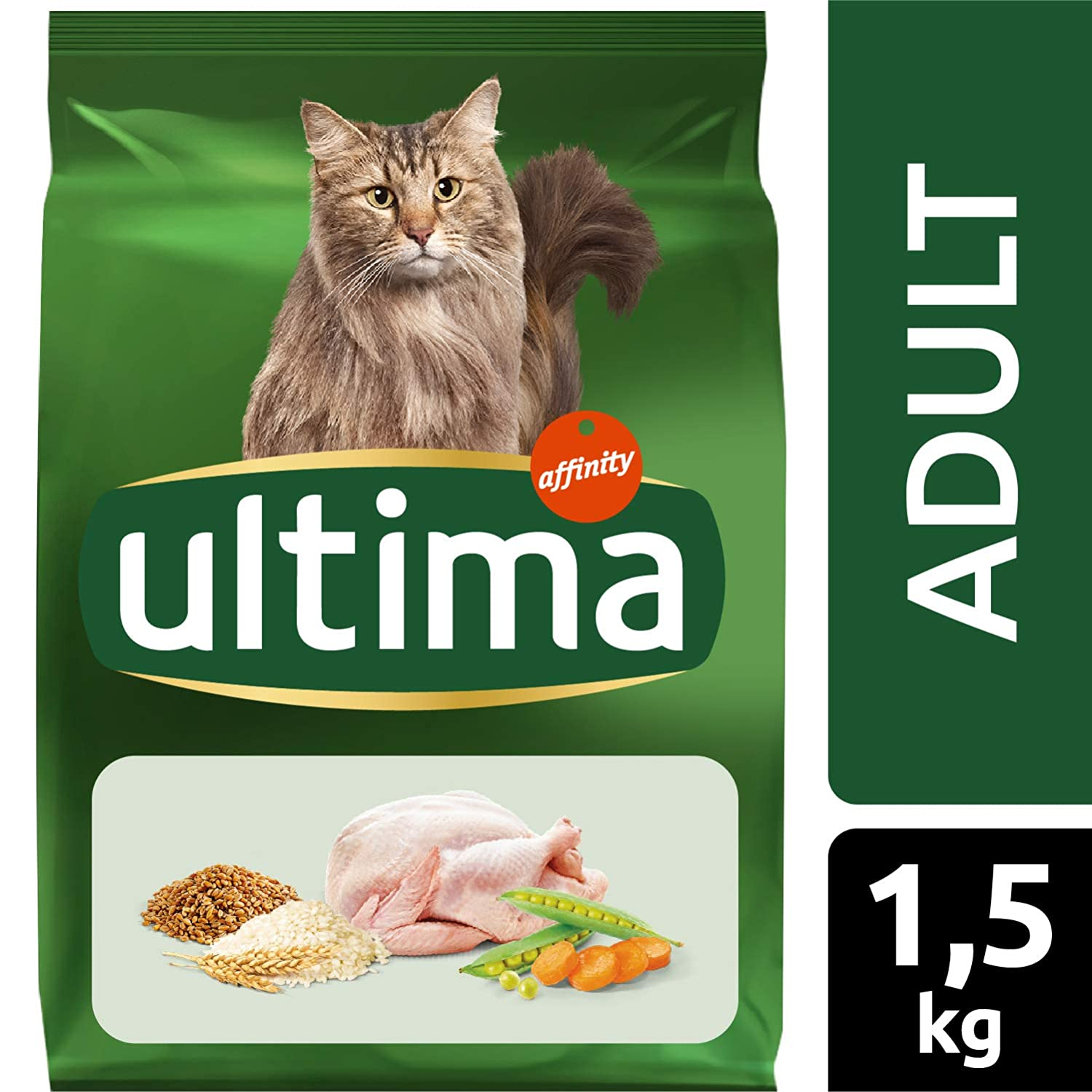 Ultima Pienso para Gatos con Pollo - 1.5 kg: Amazon.es: Amazon Pantry