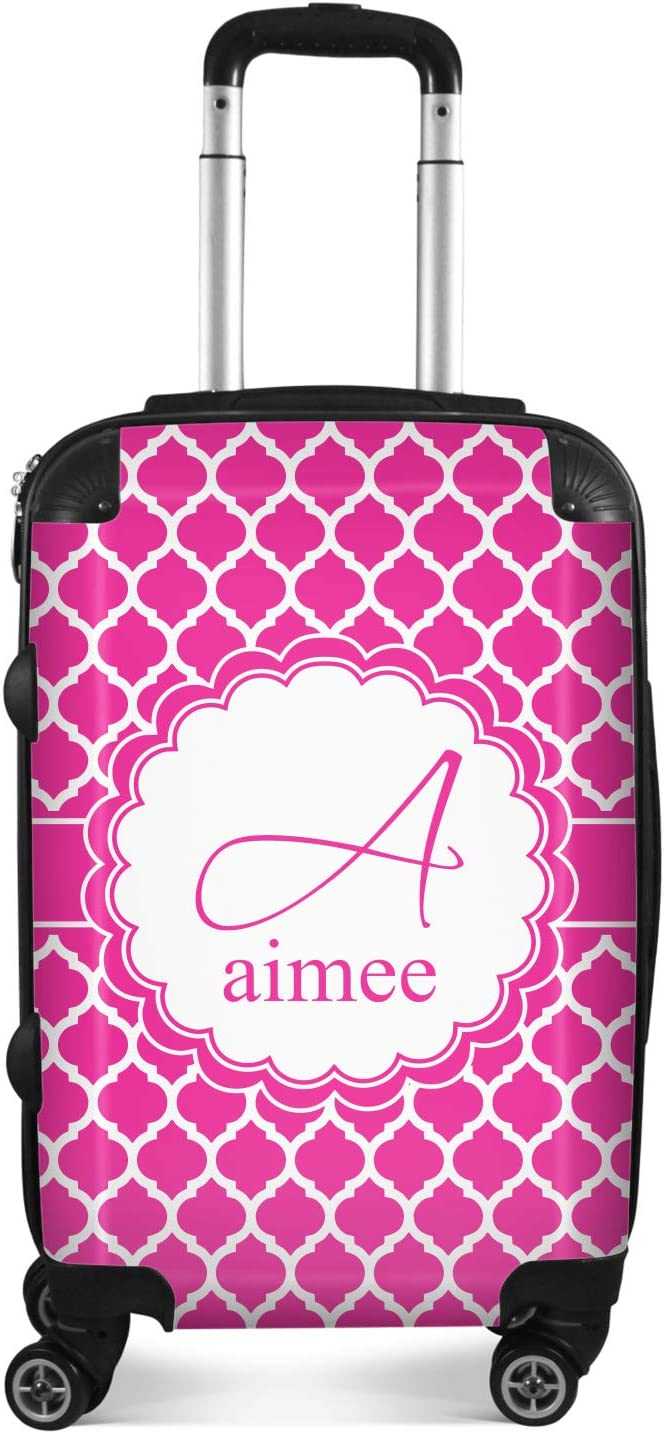 Personalized Moroccan Suitcase Checked 24Medium