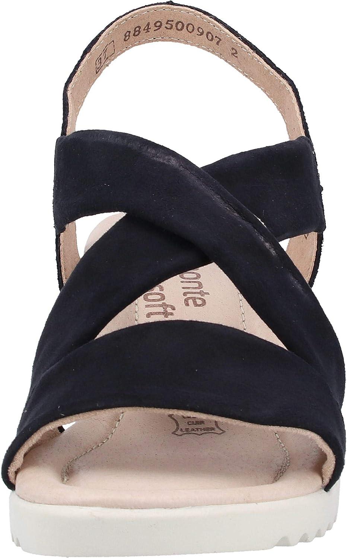 Remonte Damen-Sandalette - F Rot (4) Navy