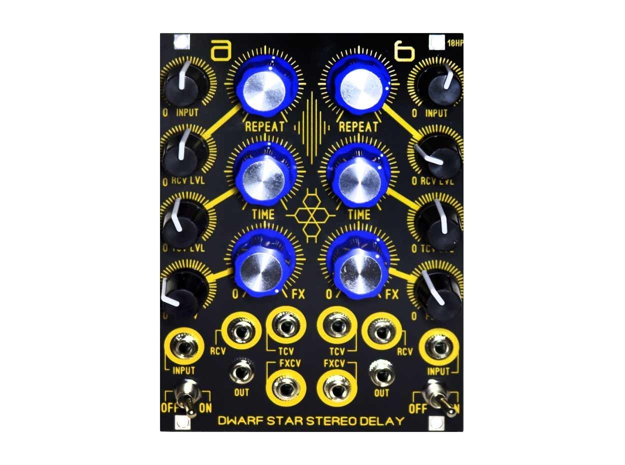 Blue Lantern Dwarf Star Stereo Delay Module Eurorack Module