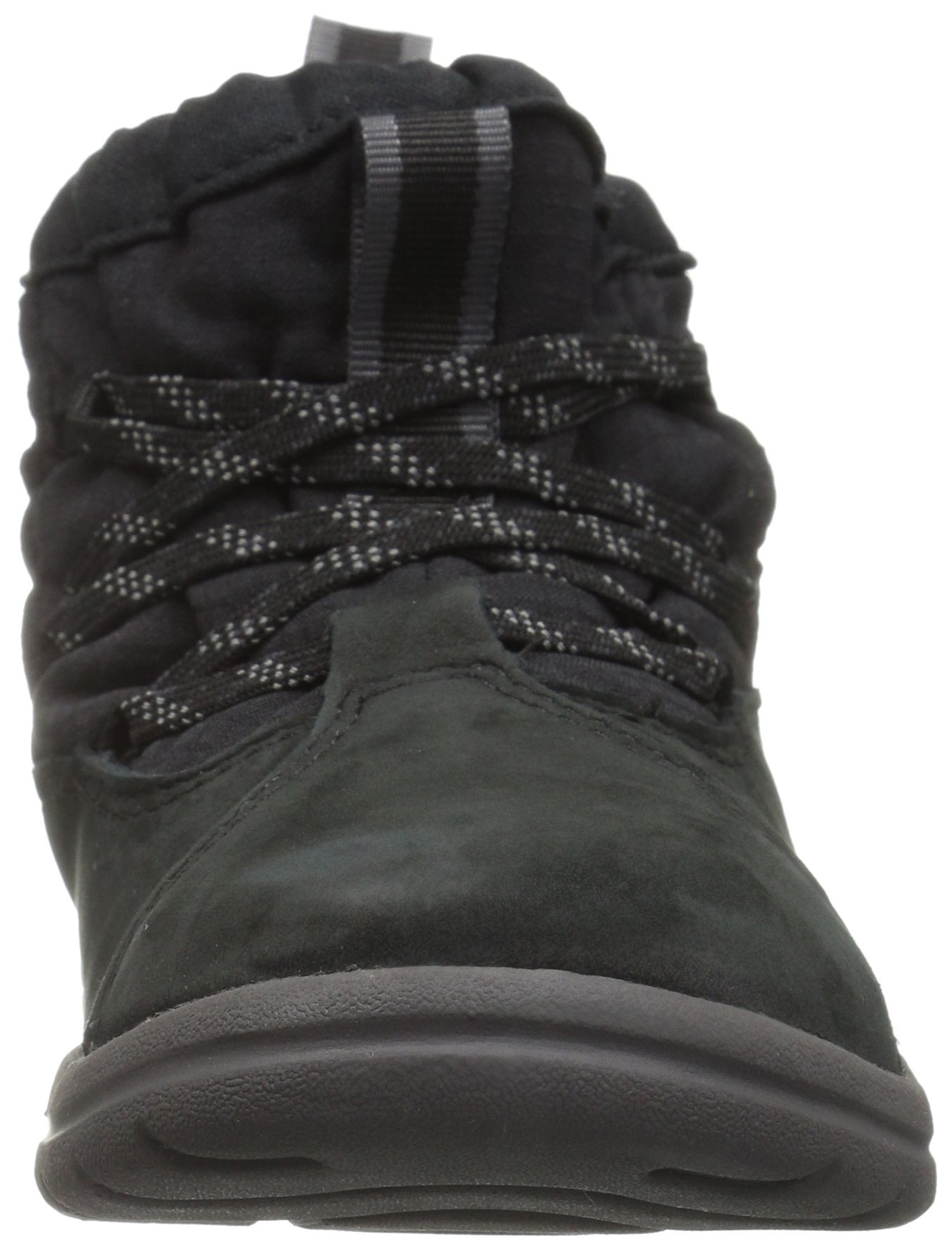 Timberland Unisex Toddle Tracks Warm Fabric Leather Bootie Snow Boot Black Nubuck 12 M US Little Kid by Timberland (Image #4)