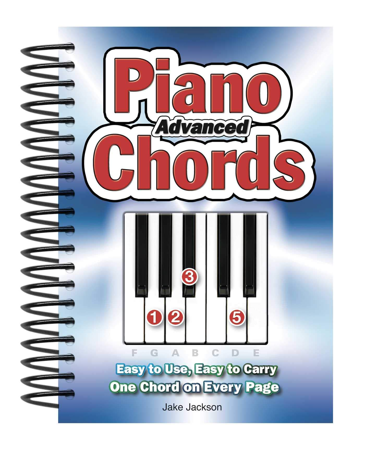 Advanced Piano Chords Easy to Use, Easy to Carry, One Chord on ...