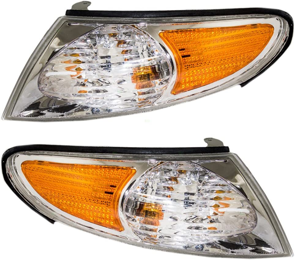 Passengers Signal Corner Marker Light Lamp Replacement for Toyota 81510-AA020