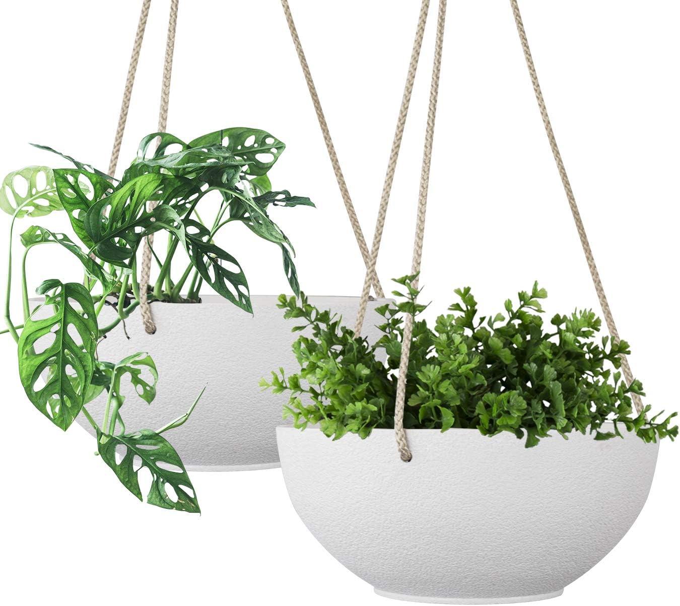 Hanging Planter Set Hanging Baskets Pots For Plants Flower Patio Indoor Decor