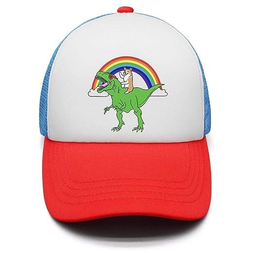 Corgi T Rex Dinosaur Boys Girls Adjustable Trucker Hat for Toddler Airy Mesh  Sun Hat c93533ae75b7