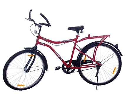 Leader Steel Men\'s Bicycle, 9 Inches (Red, JFI ECO BIKE 9T RED ...