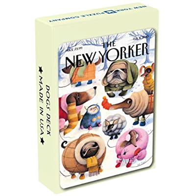Dog Cartoon Playing Cards: Toys & Games