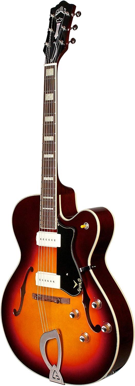 GUILD X 175 MANHATTAN ANTIGUO BURST + CASE Guitarras eléctricas hueco y semi-hueco