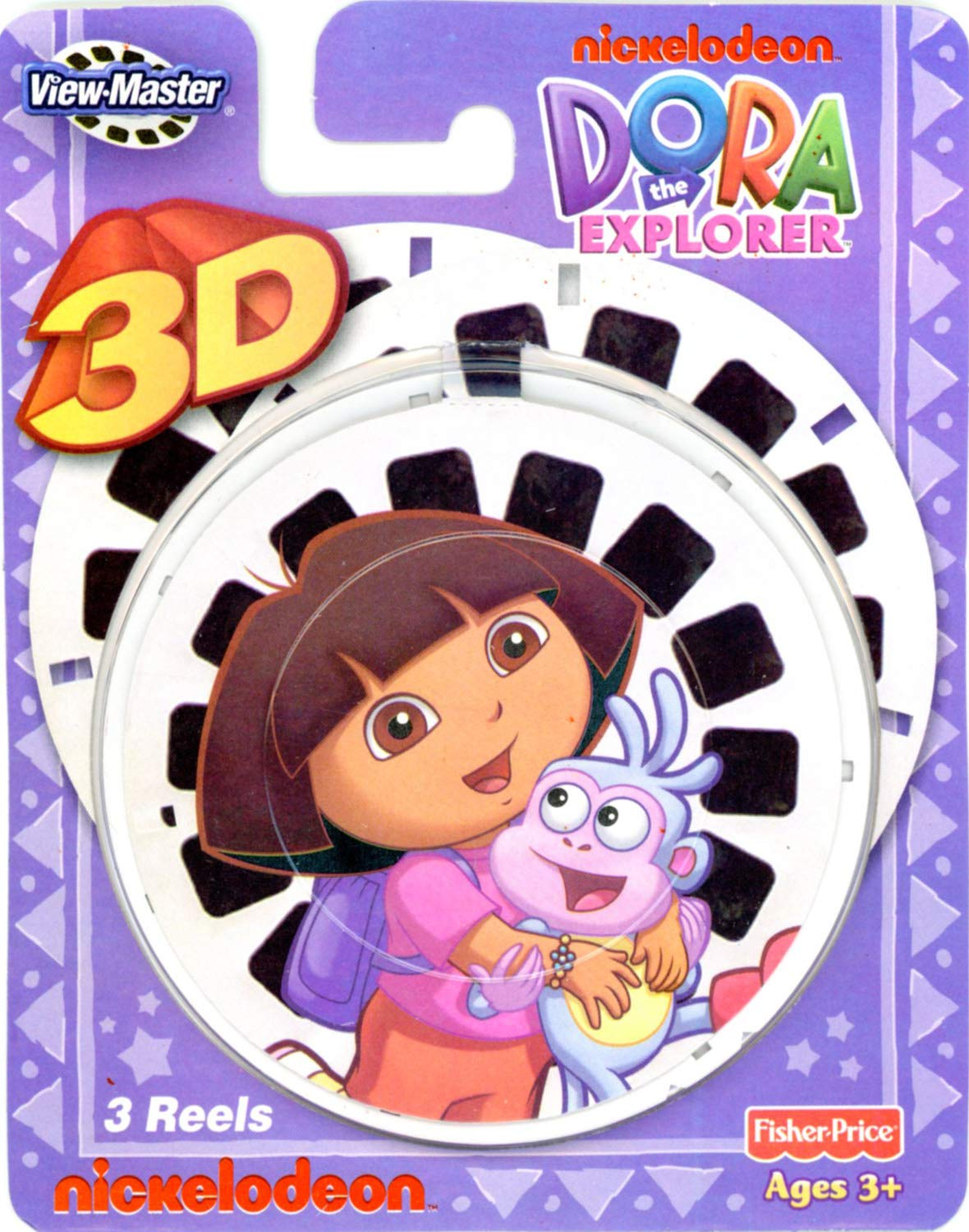 Dora The Explorer - Dora 3 - Classic ViewMaster 3 Reel Set by View Master (Image #1)