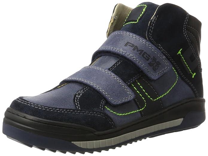 Primigi PSH 8120, Sneakers Hautes Garçon, Bleu (Blu Chiaro/Navy), 28 EU