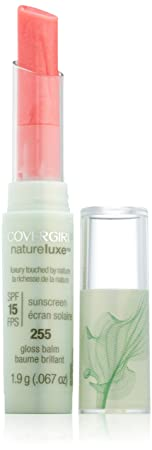Covergirl Natureluxe Gloss Balm Marble 255, 0.067-Ounce Pack of 2
