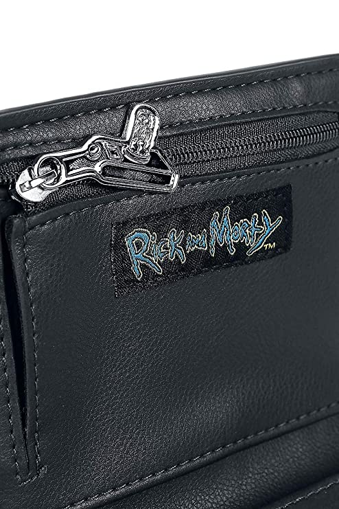 Amazon.com: Rick y Morty Allover Imprimir Bi-Fold Billetera ...