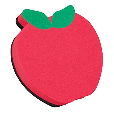 ASHLEY PRODUCTIONS Apple Magnetic Whiteboard Eraser: Toys & Games