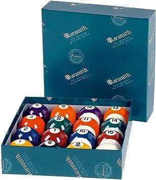 Winsport ARAMITH POOL PREMIUM - Juego de bolas de billar, 52 mm [Varios]: Amazon.es: Deportes y aire libre