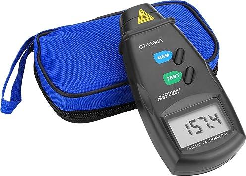Qlan Digital Tachometer Measuring Range:2.5-99999RPM