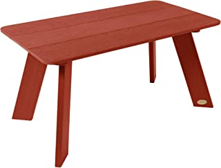 product image for highwood AD-TBLAD02-RED Barcelona Modern Coffee Table, Rustic Red