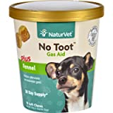 NaturVet Gas Aid - Plus Fennel - No Toot - Dogs - Cup - 70 Soft Chews