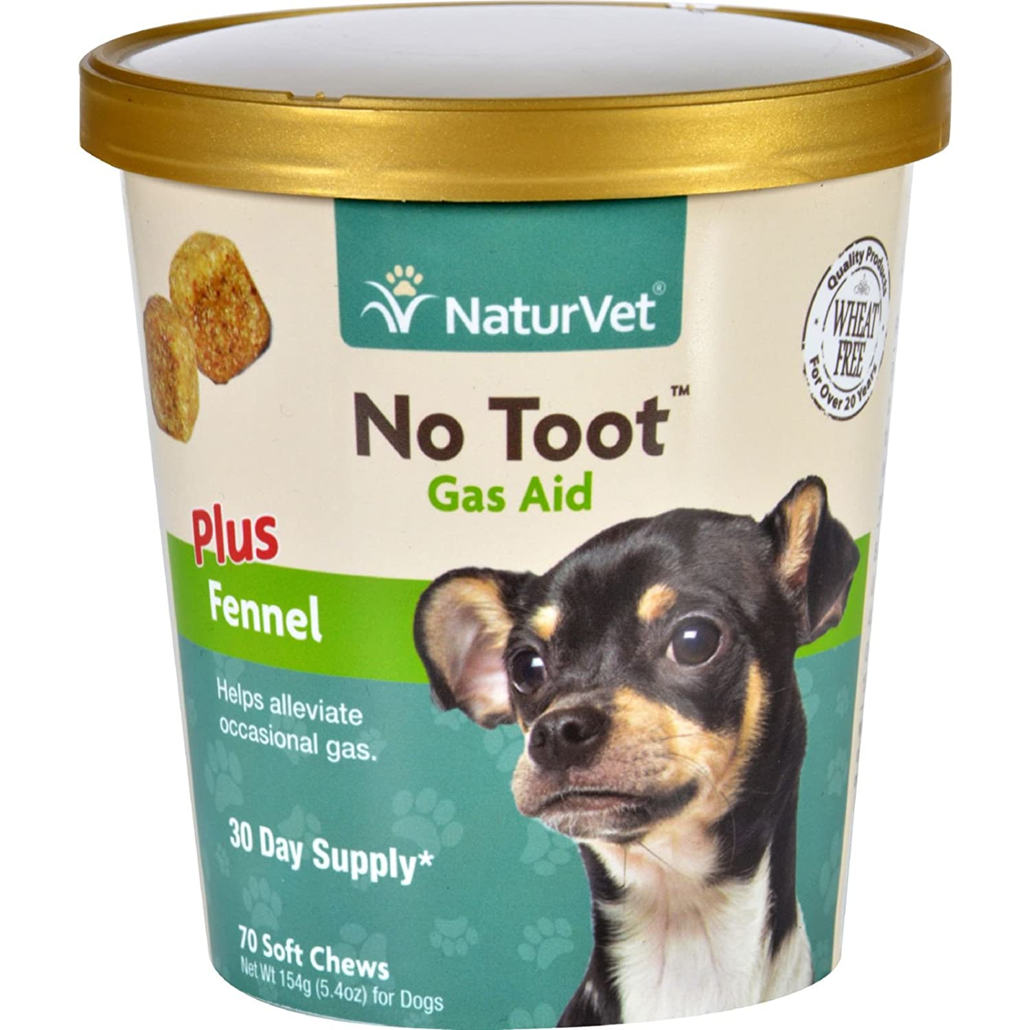 Amazon.com: naturvet Gas ayuda – Hinojo Plus – No Toot ...
