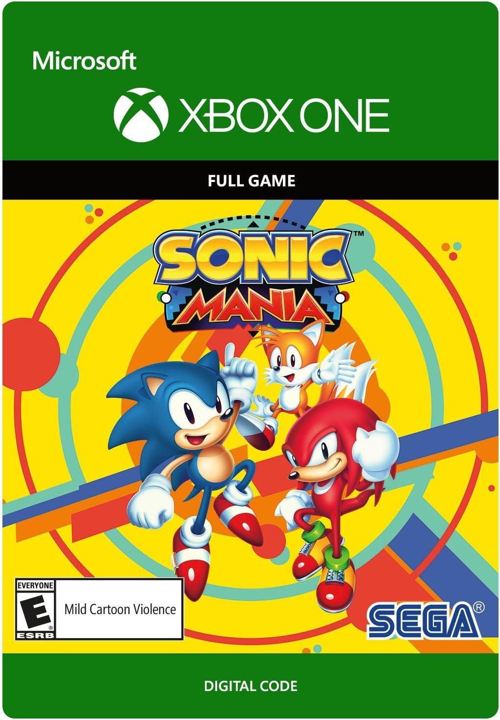 Amazon com: Sonic Mania - Xbox One [Digital Code]: Video Games