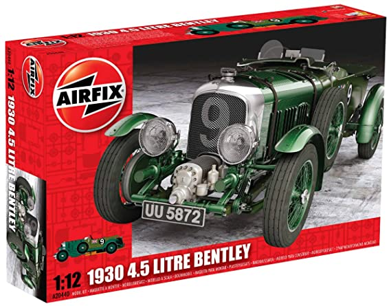 Airfix A20440 1930 Bentley 4.5 Litre, 1:12 Scale