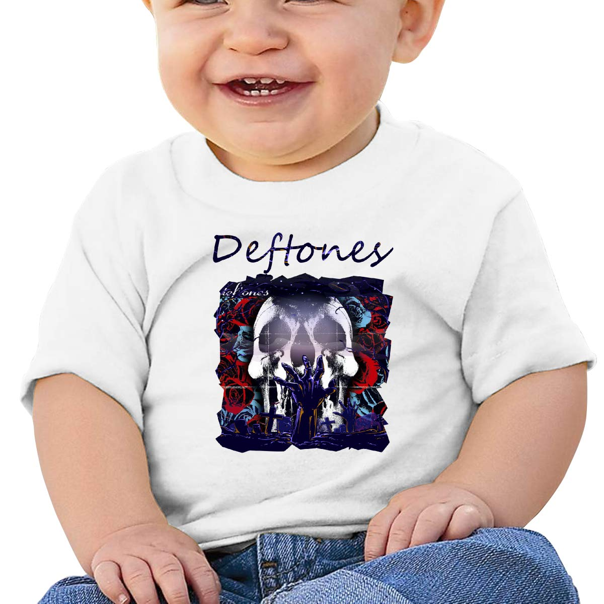 Kangtians Baby Deftones Shirt Toddler Cotton Tee