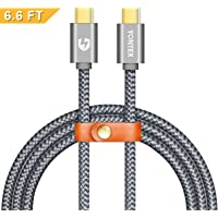 Yontex 6.6 ft Type C to Type C Cable