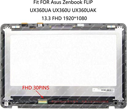 13.3/'/' FHD 1080P LED LCD Display Touch Screen Digitizer Assembly For ASUS UX360U