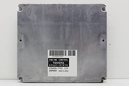 Amazoncom 89661 47070 Toyota Prius Computer Module Ecm Ecu