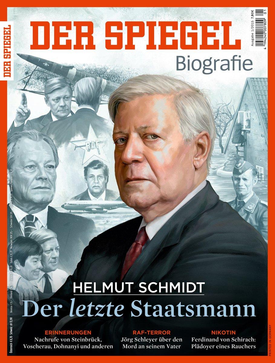 SPIEGEL Biografie: Helmut Schmidt - Der letzte Staatsmann: Amazon.de: Klaus  Brinkbäumer, Susanne Beyer, Hans-Ulrich Stoldt: Bücher