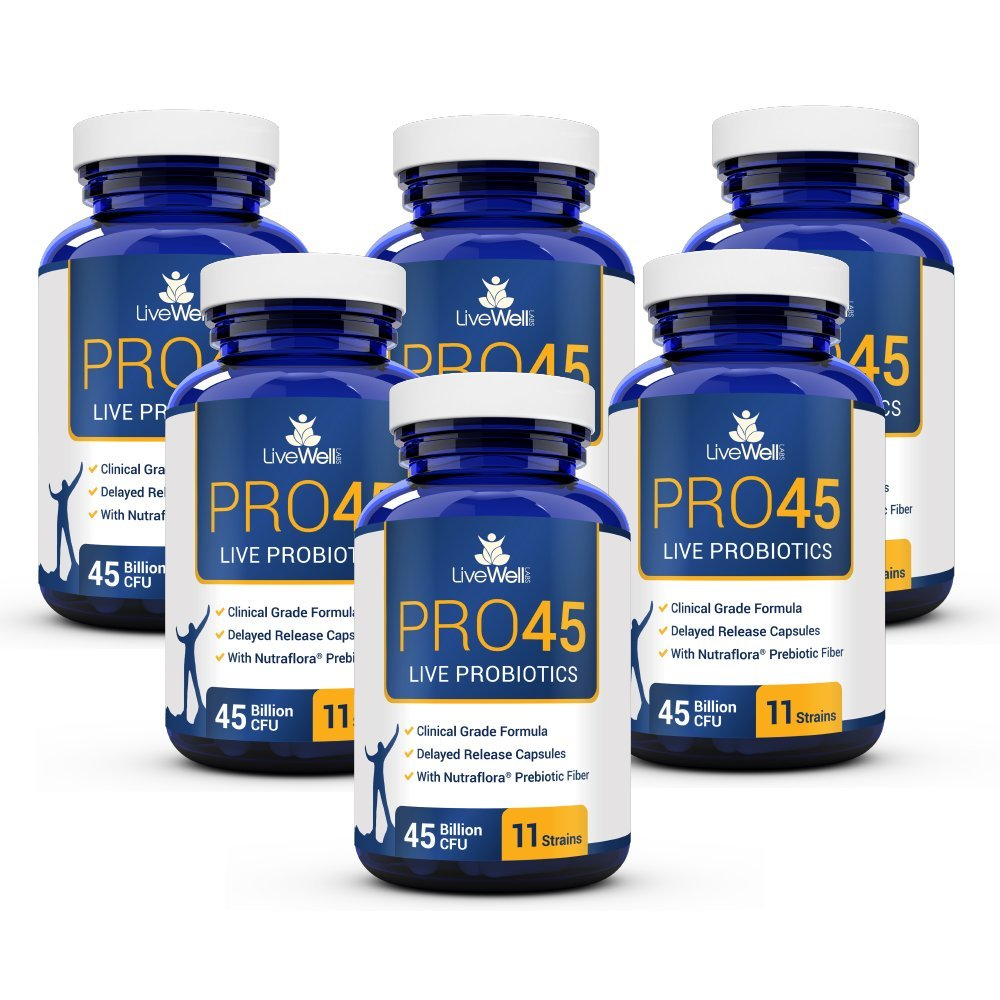 Product thumbnail for Pro45 Live Probiotics
