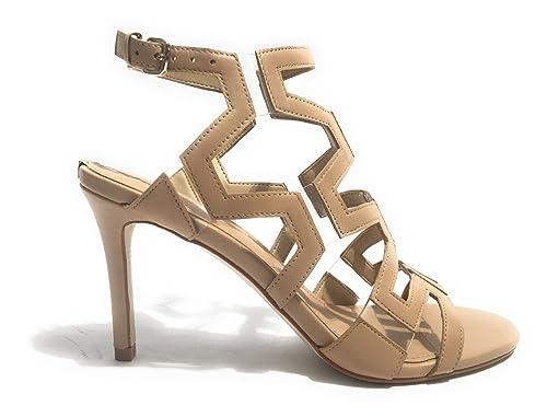 Scarpe Donna Guess Modello Cyarra In Pelle Beige Tc 80 Ds17gu01 6WLLs7ES