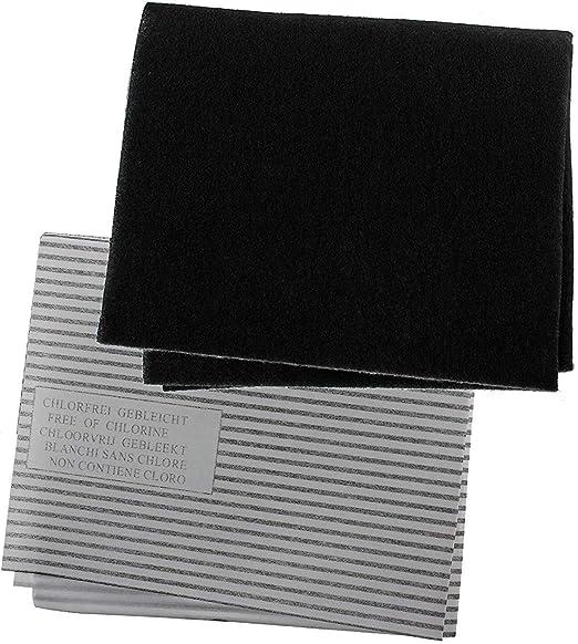 Reliapart - Juego de filtros para campana de cocina (60 cm, 2 filtros de grasa con indicador de saturación y 1 filtro de carbón para ventilador extractor de cocina Moffat): Amazon.es: Hogar