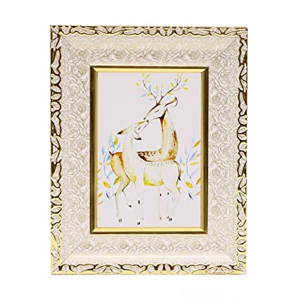 Amazon.com: BOJIN 4x6 Inch Picture Frames Wooden Photo Frames For ...