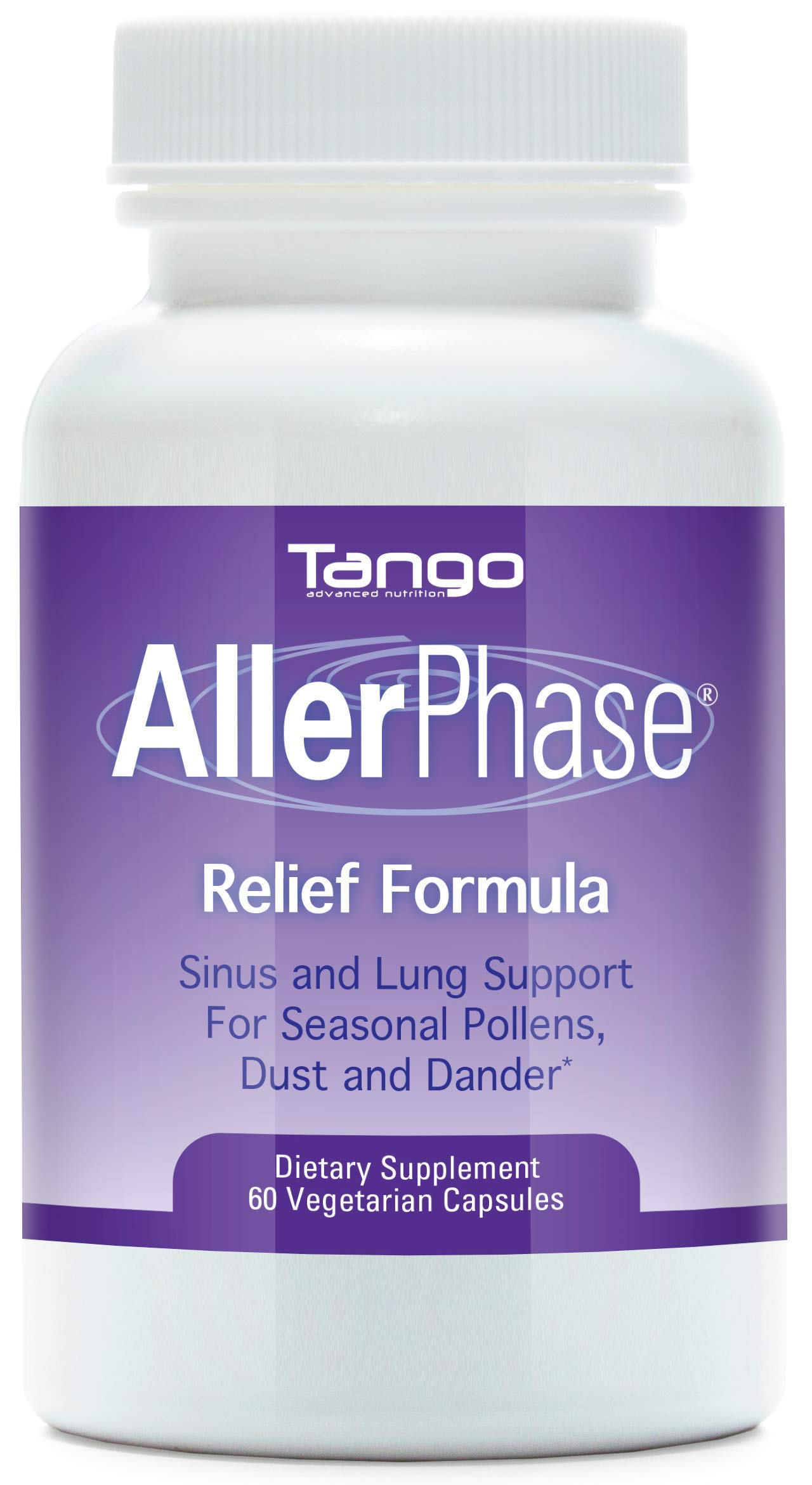 AllerPhase All-Natural Herbal Support Formula for Seasonal Respiratory Discomfort (60 caps)